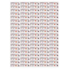 Индикатор стерилизации ВИНАР ИНТЕСТ-П-121/20, комплект 1000 шт., с журналом