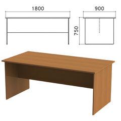 """Стол для переговоров """"Монолит"""", 1800х900х750 мм, цвет орех гварнери, СМ18.3"""