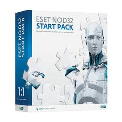 "Антивирус ESET NOD32 ""Start pack"", базовый комплект, 1 ПК на 1 год, бокс"