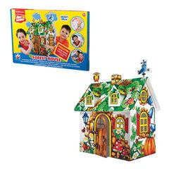 """Домик игровой для раскрашивания ERICH KRAUSE Artberry """"Лесной домик"""", картонный, 48х33х21см"""