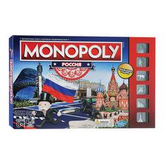 """Игра настольная """"Монополия Россия"""", MONOPOLY Hasbro, в коробке"""
