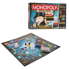 """Игра настольная """"Монополия с банковскими карточками"""", MONOPOLY Hasbro, в коробке"""