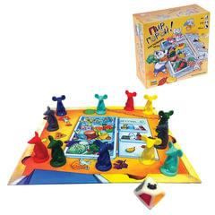"""Игра настольная детская """"Пир горой!"""", игровое поле, фишки, игровой кубик, ЗВЕЗДА"""