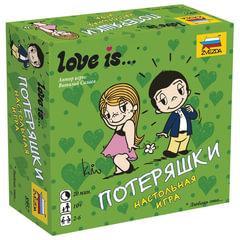 """Игра настольная детская карточная """"Love is…Потеряшки"""", в коробке, ЗВЕЗДА"""