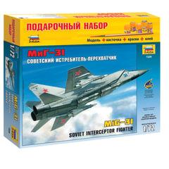 """Модель для склеивания НАБОР САМОЛЕТ, """"Истребитель-перехватчик советский МиГ-31"""", 1:72, ЗВЕЗДА, 7229П"""