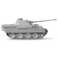 """Модель для сборки ТАНК """"Средний немецкий T-V (D) """"Пантера"""", масштаб 1:72, ЗВЕЗДА, 5010"""