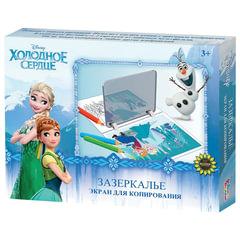 """Экран для копирования рисунков """"Холодное сердце"""", 23х16 см, 2 рисунка, по лицензии Disney, """"Десятое королевство"""""""