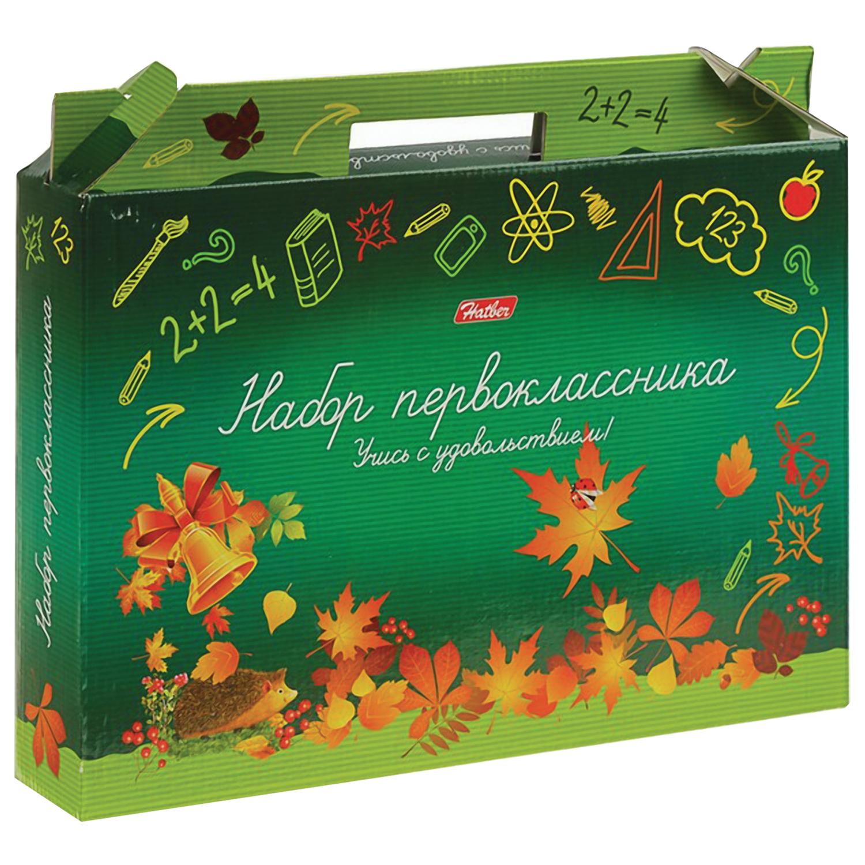 """Набор для первоклассника в подарочной упаковке """"Учись с удовольствием"""", HATBER, Нп4 17692"""