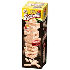 """Игра настольная """"Царь башня mini"""", неокрашенные деревянные блоки, 10 КОРОЛЕВСТВО"""