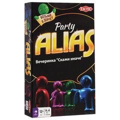 """Игра настольная """"Alias """"СКАЖИ ИНАЧЕ. Вечеринка"""", компактная версия, TACTIC, 53370"""