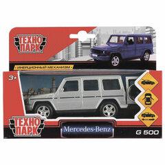 """Машина металлическая """"MERCEDES-BENZ G-CLASS"""", 12 см, инерционная, ТЕХНОПАРК, G-CLASS-SL"""