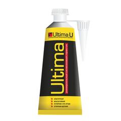 Герметик ULTIMA, силиконовый, универсальный, бесцветный, тюбик, объем 80 мл