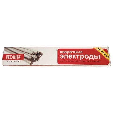 Электроды сварочные МР-3, РЕСАНТА, диаметр 4 мм, пачка 1 кг