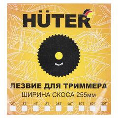 Нож для триммера, d-255 мм, 40 зубьев, европодвес, HUTER GTD-40T