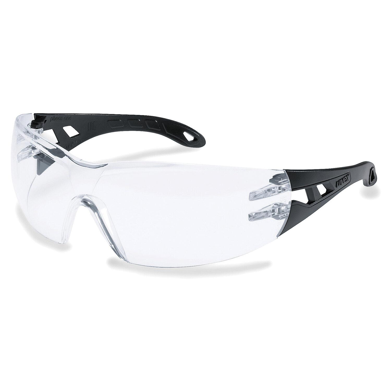 Очки защитные открытые UVEX Феос Ван, прозрачные, покрытие от царапин, запотевания