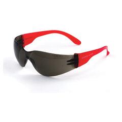 Очки защитные открытые РОСОМЗ О15 Hammer Active super, затемненные, устойчивы к химическим веществам, незапотевающее покрытие, поликарбонат