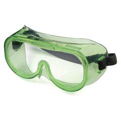 Очки защитные закрытые РОСОМЗ ЗП8 Эталон, прозрачные, прямая вентиляция, устойчивы к растворам кислот и щелочей, поликарбонат