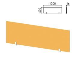"Экран-перегородка ""Профит"", 1300х16х400 мм, оранжевый (КОМПЛЕКТ)"