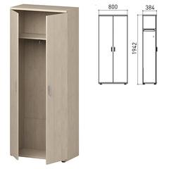 """Шкаф для одежды """"Профит"""", 800х384х1942 мм, дуб шамони (КОМПЛЕКТ)"""