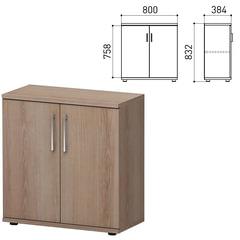 "Шкаф закрытый ""Директ"", 800х384х832 мм, ясень альтера (КОМПЛЕКТ)"